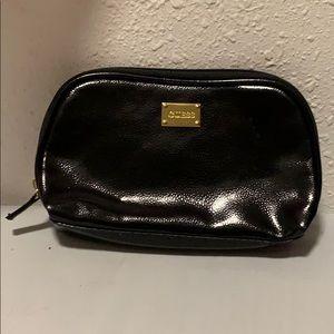 NWOT Guess black zipper bag